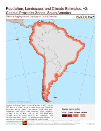 Population, Landscape, And Climate Estimates (PLACE), v3