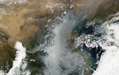 Satellite image of a particularly valuable perspective on PM2