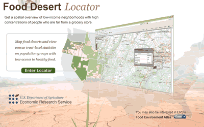 USDA Food Desert Locator