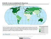 Map: Environmental Health, EPI 2014
