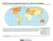 Map: Environmental Health - Health Impacts, EPI 2014