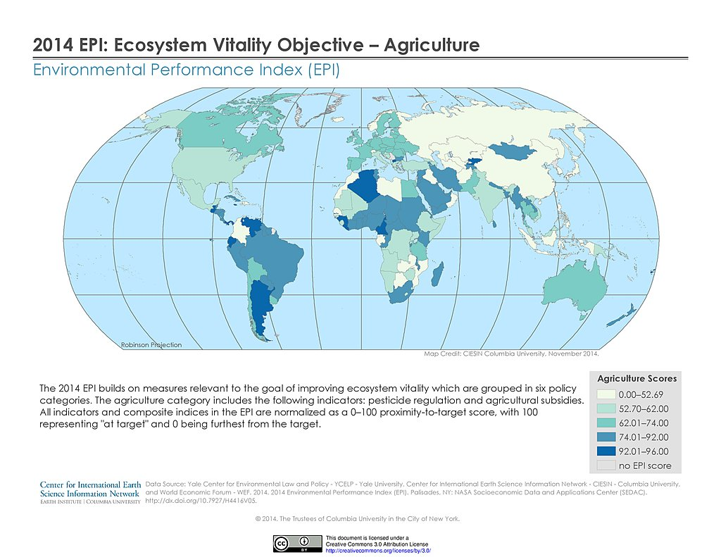Map gallery sedac ecosystem vitality epi 2014 gumiabroncs Image collections