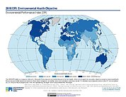 Map: Environmental Health, EPI 2018