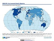 Map: Environmental Health, EPI 2020
