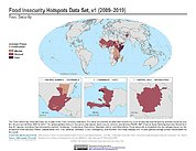 Map: Food Insecurity Hotspots (2009-2019)