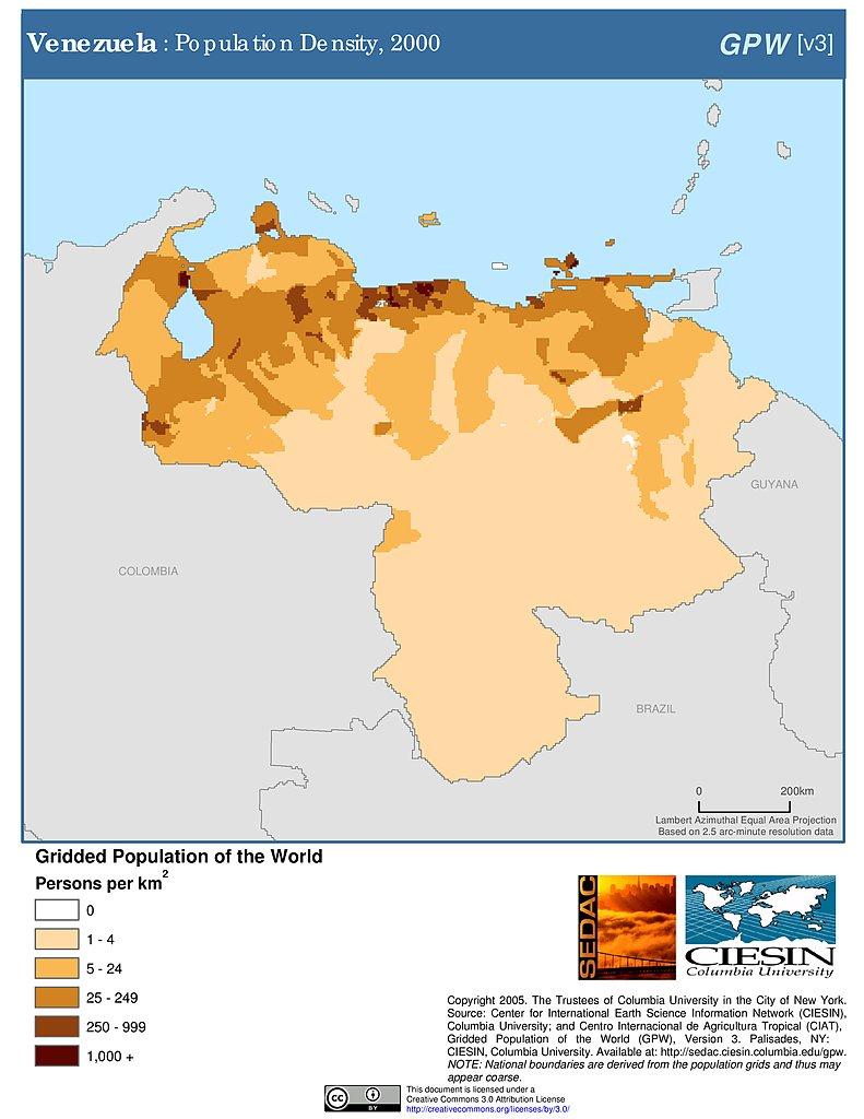 Maps Potion Density Grid V3 Sedac