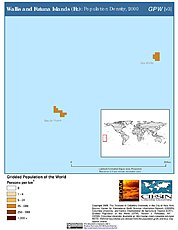 Map: Population Density (2000): Wallis & Futuna Islands