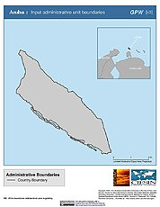Map: Administrative Boundaries: Aruba