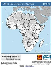 Map: Administrative Boundaries: Africa