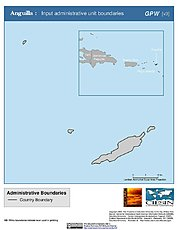 Map: Administrative Boundaries: Anguilla