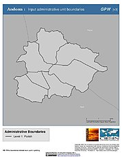 Map: Administrative Boundaries: Andorra