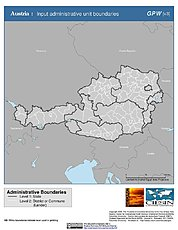 Map: Administrative Boundaries: Austria