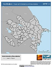 Map: Administrative Boundaries: Azerbaijan