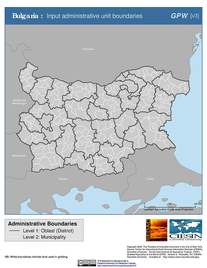 Maps  Gridded Population Of The World GPW V3  SEDAC