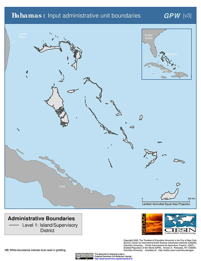 Maps » Subnational Administrative Boundaries, v3: | SEDAC