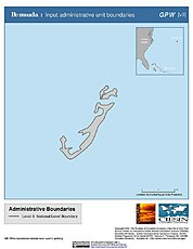 Map: Administrative Boundaries: Bermuda