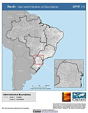 Map: Administrative Boundaries: Brazil
