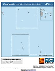 Map: Administrative Boundaries: Cook Islands