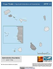 Map: Administrative Boundaries: Cape Verde