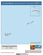 Map: Administrative Boundaries: Cayman Islands