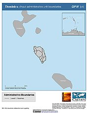 Map: Administrative Boundaries: Dominica