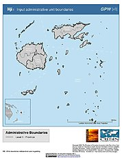 Map: Administrative Boundaries: Fiji