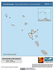 Map: Administrative Boundaries: Guadeloupe