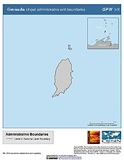 Map: Administrative Boundaries: Grenada
