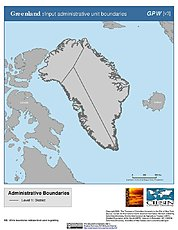Map: Administrative Boundaries: Greenland