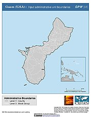 Map: Administrative Boundaries: Guam