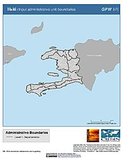 Map: Administrative Boundaries: Haiti