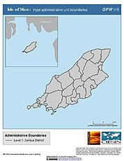 Map: Administrative Boundaries: Isle of Man