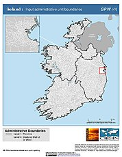 Map: Administrative Boundaries: Ireland