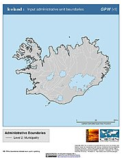 Map: Administrative Boundaries: Iceland