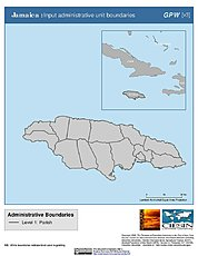 Map: Administrative Boundaries: Jamaica