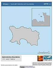 Map: Administrative Boundaries: Jersey