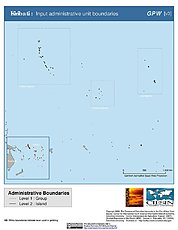 Map: Administrative Boundaries: Kiribati