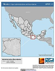 Map: Administrative Boundaries: Mexico