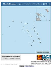 Map: Administrative Boundaries: Marshall Islands