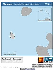 Map: Administrative Boundaries: Montserrat
