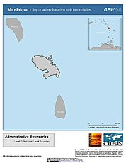 Map: Administrative Boundaries: Martinique