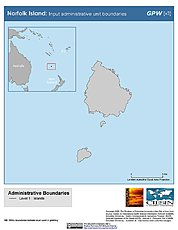 Map: Administrative Boundaries: Norfolk Island