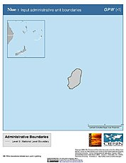 Map: Administrative Boundaries: Niue