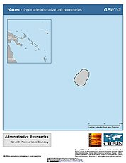 Map: Administrative Boundaries: Nauru