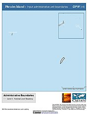 Map: Administrative Boundaries: Pitcairn