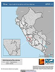 Map: Administrative Boundaries: Peru