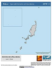 Map: Administrative Boundaries: Palau
