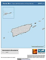 Map: Administrative Boundaries: Puerto Rico