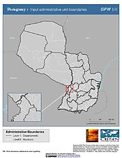 Map: Administrative Boundaries: Paraquay