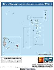 Map: Administrative Boundaries: French Polynesia